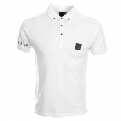 Money Black Money Polo T Shirt White