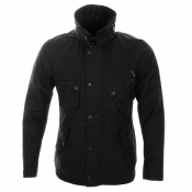Barbour Apollo Waxed Jacket Black