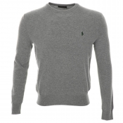 Ralph Lauren Crew Neck Jumper Grey