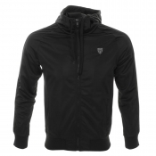 Antony Morato Hooded Zip Sweatshirt Jumper Black