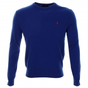 Ralph Lauren Crew Neck Jumper Royal Blue