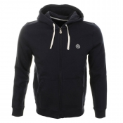 Henri Lloyd Leeward Hooded Full Zip Jumper Navy