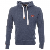 Superdry Orange Label Primary Hooded Jumper Blue