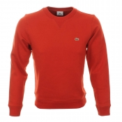 Lacoste Crew Neck Jumper Red