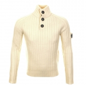 Henri Lloyd Bosun MKIII Knit Jumper Cream