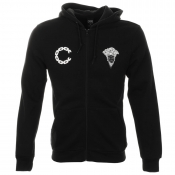 Crooks And Castles Advisory Zip Jumper Black
