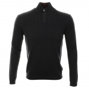 Ted Baker Tipton Funnel Neck Jumper Navy