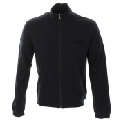 HUGO BOSS Black Full Zip Jumper Navy