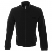 HUGO BOSS Black Full Zip Jumper Black