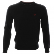 Fred Perry Classic Tipped Jumper Navy