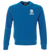 Franklin Marshall Emblem Sweatshirt Jumper Blue