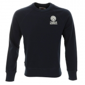 Franklin Marshall Emblem Sweatshirt Jumper Navy
