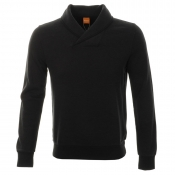 HUGO BOSS Orange Wandros Jumper Black