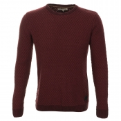 Anerkjendt Turf Knit Jumper Red
