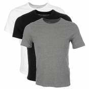 HUGO BOSS Black Multi Colour Triple Pack T Shirt